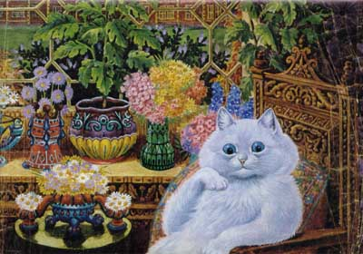 Neuroscience Art Gallery Art By Psychotics Louis Wain