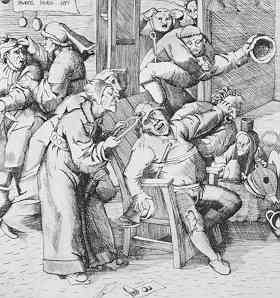 For Example In The Medieval Times Barbers Surgeons Roamed Countryside Offering A Surgery Removing Stone Of Madness Or Pierre De Follie